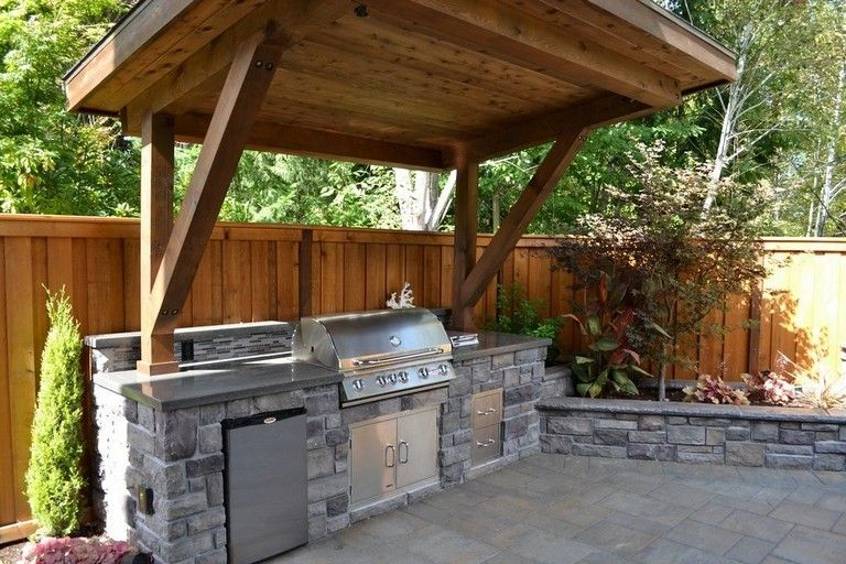 21 Top Small Rustic Kitchen Designs For Outdoor Small Outdoor Kitchens Outdoor Kitchen Outdoor Kitchen Decor