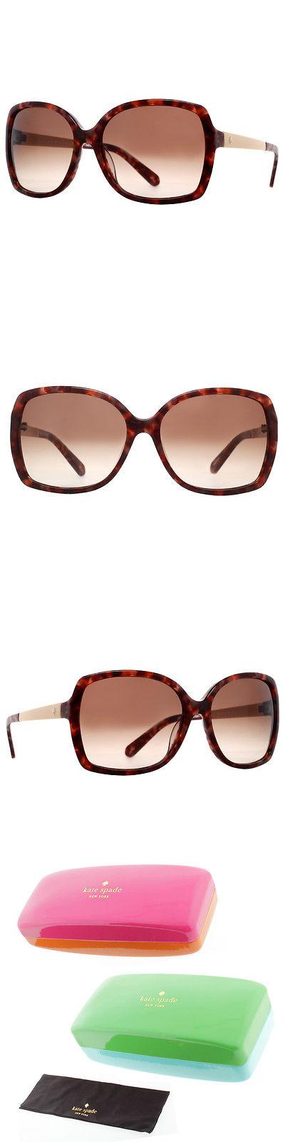 f02795337387f Sunglasses 45246  Kate Spade New York Darilynn S Jdqb1 Havana Brown Gold  Women S Sunglasses