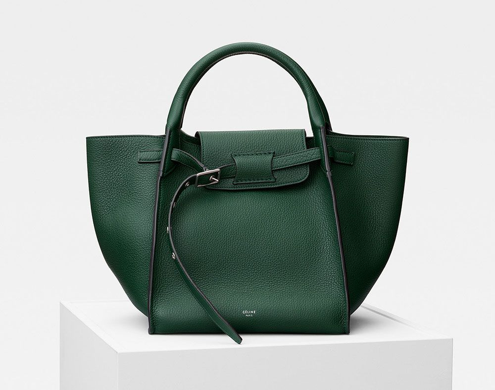 f03f593a2e54 Céline s Pre-Fall 2018 Bags are Here—Check Out the Brand s Last Collection  Before Hedi Slimane Takes Over - PurseBlog