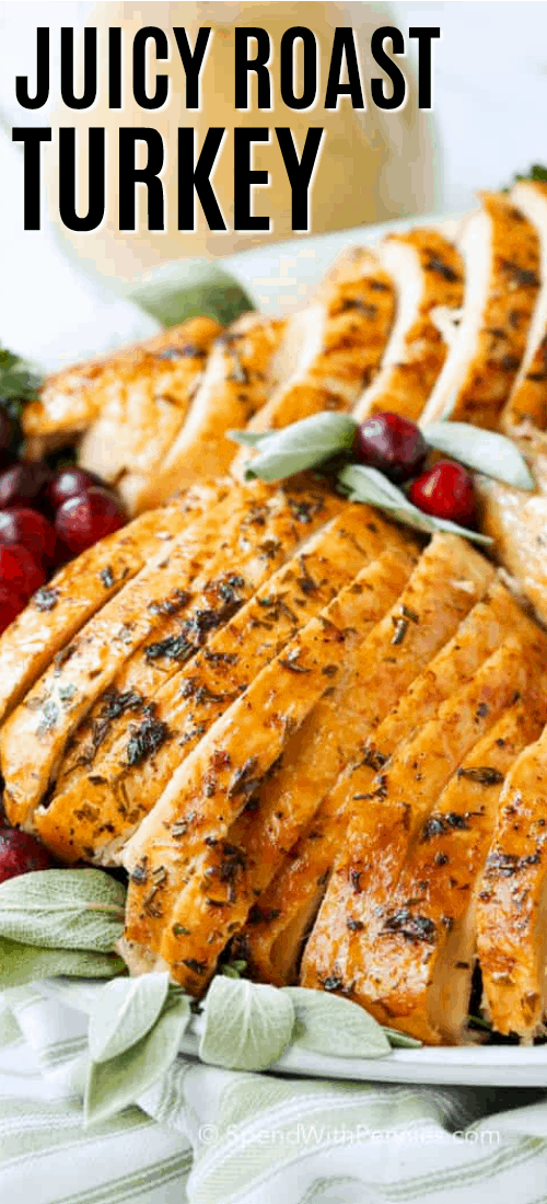 Herb Roast Turkey Recipe - How to Roast a Turkey (step by step)
