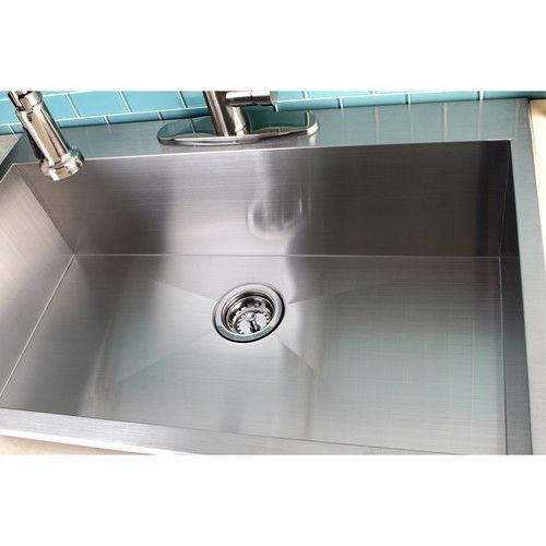kingston brass uptowne 33   x 22   self rimming single bowl kitchen sink kingston brass uptowne 33   x 22   self rimming single bowl kitchen      rh   pinterest dk