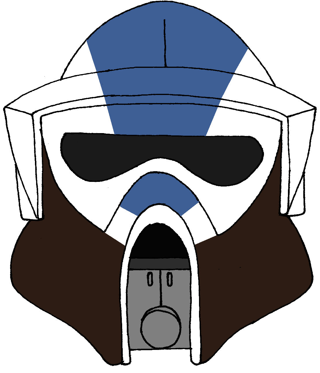 Clone Trooper Helmet 501st Legion 5 Star Wars Helmet Star Wars Trooper Star Wars Stormtrooper