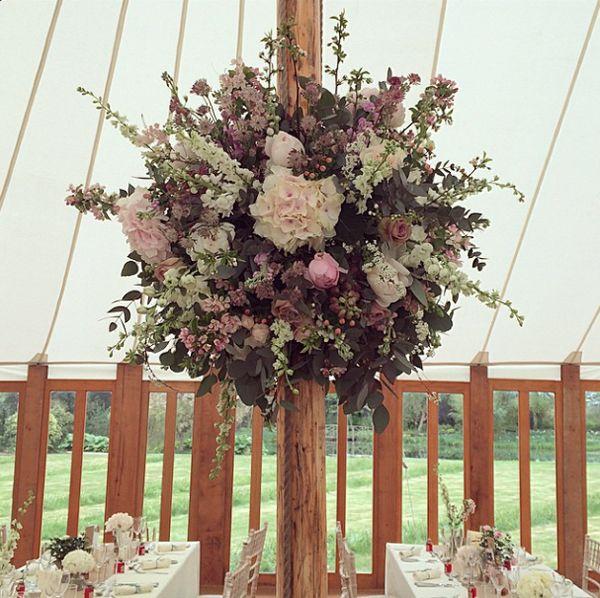 Wedding Wednesday On Trend Hanging Flower Balls Flowerona