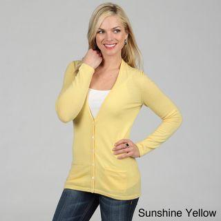 Mendocino Women's Cashmere Cardigan Sweater | Overstock.com | My ...