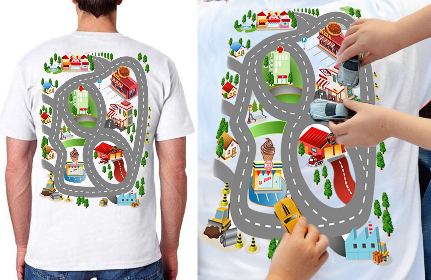 Car Play Shirt, Fathers Day Gift from Son, Back Massage Shirt ...