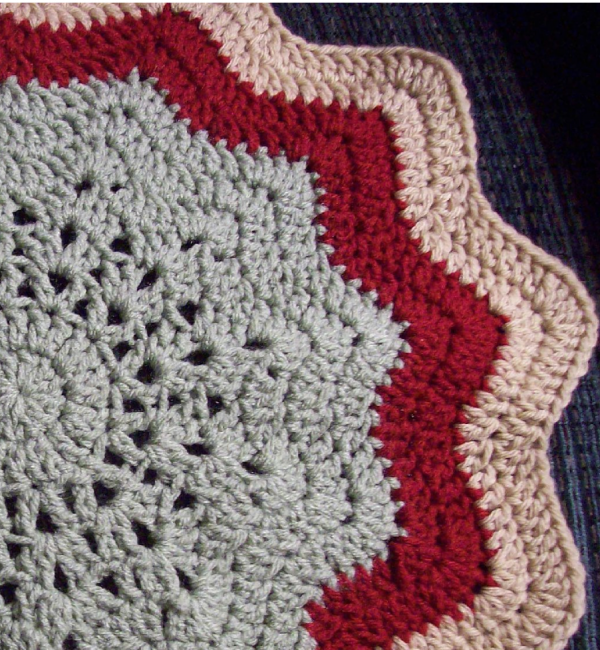 Crochet Inspiration Ripple Star Blankets 27 Patterns And
