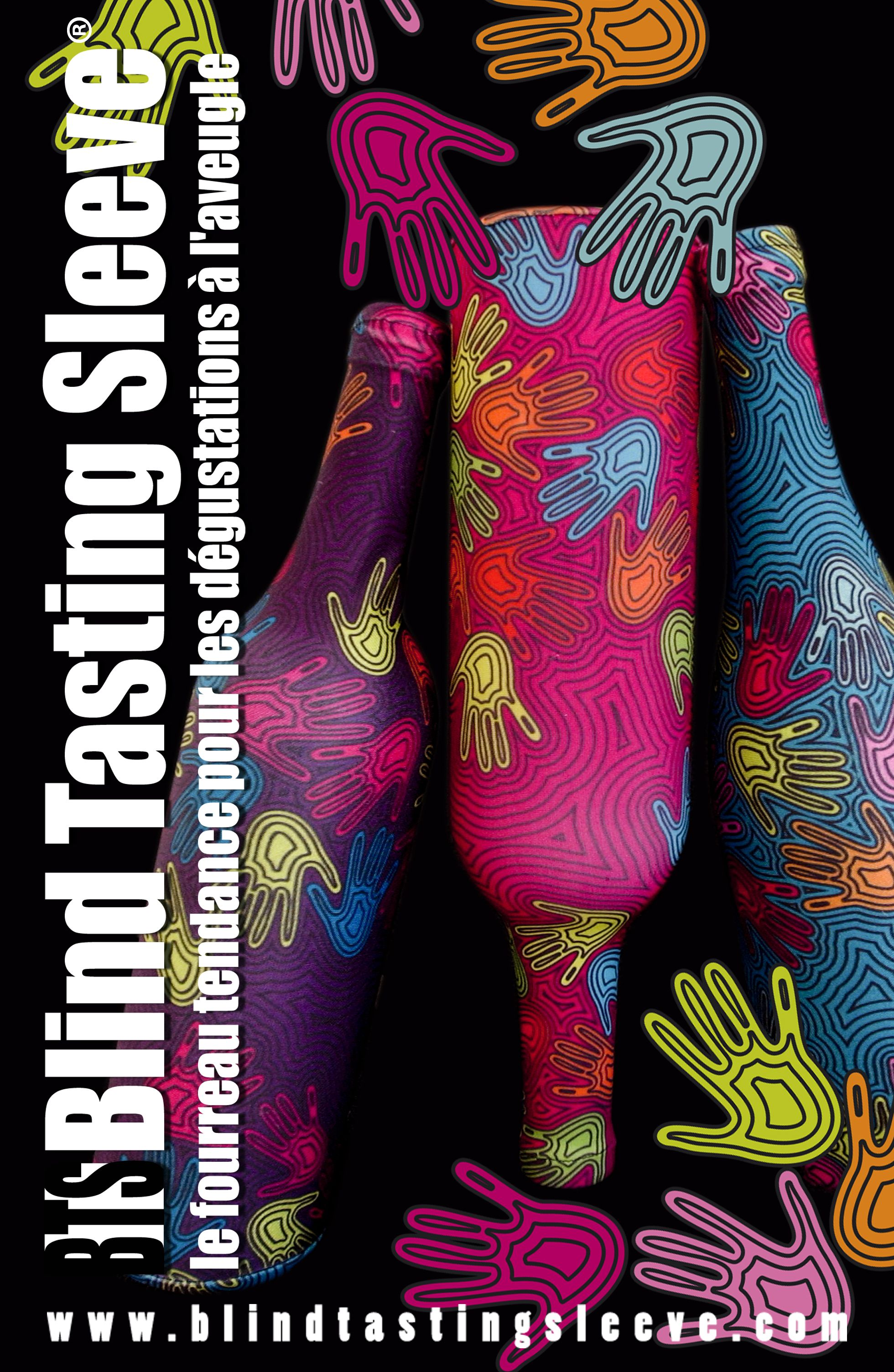 La famille Aborigène au complet. La BTS® La Main du Vigneron® la nouvelle gamme de chaussettes de dégustation de Manacrea ! Vous savez qu'on peut aussi changer le visuel à vitre bon plaisir ? Il n'y a qu'à demander !  www.blindtastingsleeve.com www.manacrea.com #Vin #Degustation #Accessoire