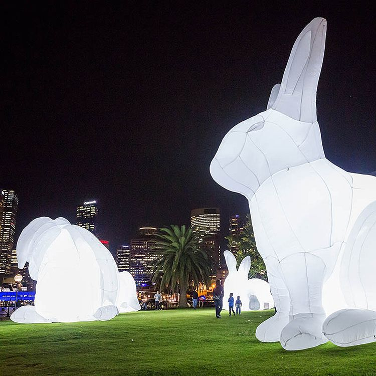 Painting With Light: Vivid Sydney 2014 #lightartinstallation