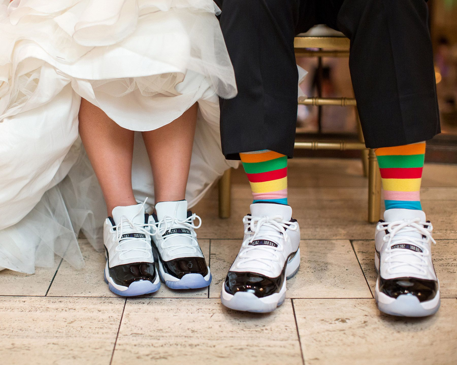 His And Hers Jordan 11 Concords Bently Reserve Wedding Fashion