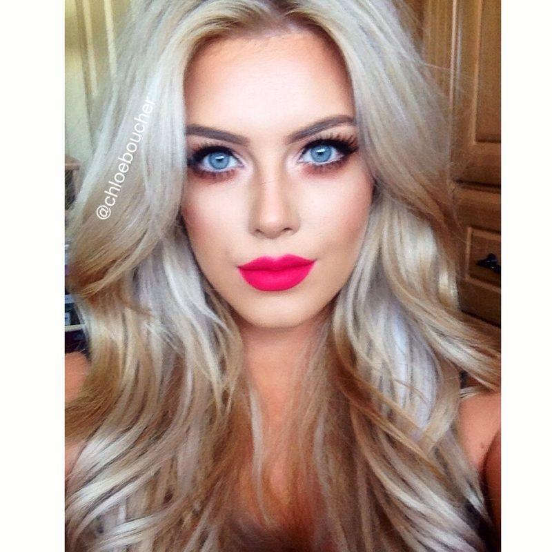 Relentlessly Red Chloe Boucher Blog Hair Beauty Cat
