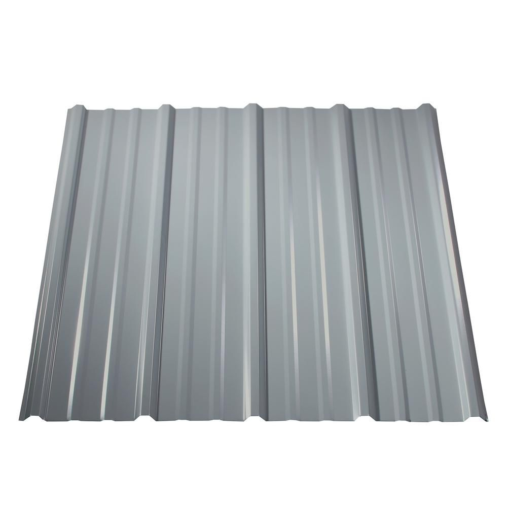 8 Ft Pro Panel Ii Steel Roof Panel White Metal Roof Panels Corrugated Metal Roof Steel Roof Panels