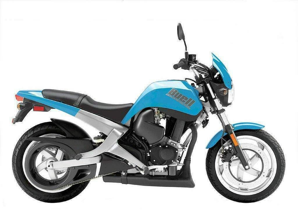 Buell Blast just like mine cept mine is purple! No riding b!tch for me anymore!! I drive my own! ;)