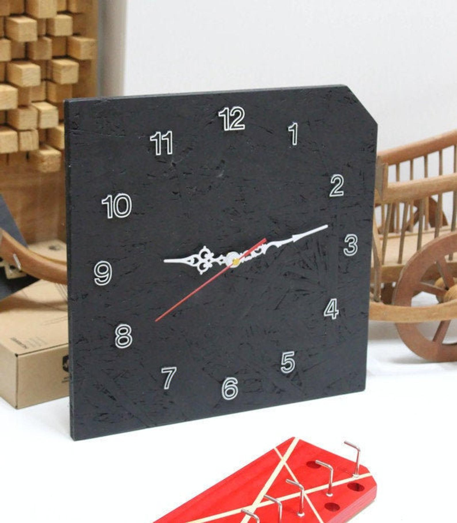 Modern Clocks For Wallwall Clock Woodmodern Clock Clock For Etsy Modern Clock Wood Wall Clock Wooden Clock