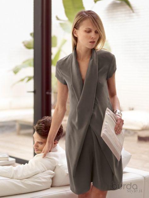 Photo of Abito incrociato – Abiti – Donna – Shop & Patterns Il mondo dei modelli …