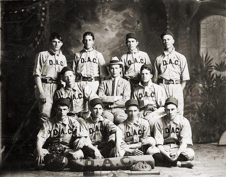 Dallas athletic club baseball team 1904 baseball