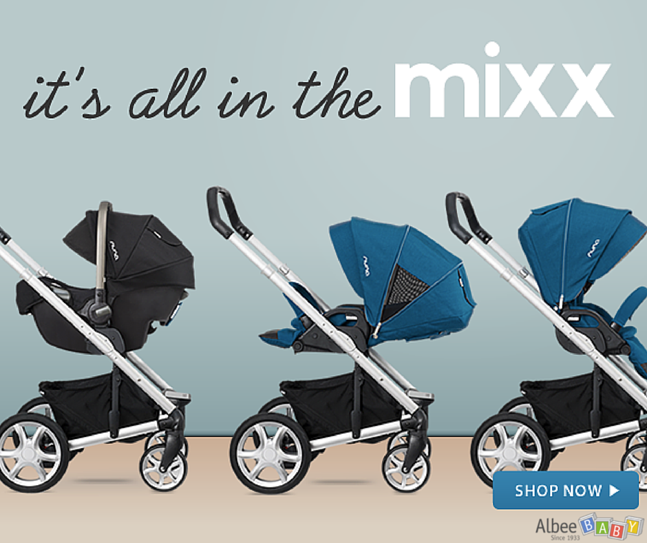 Mix things up with the new Nuna Mixx Strollers! Featuring