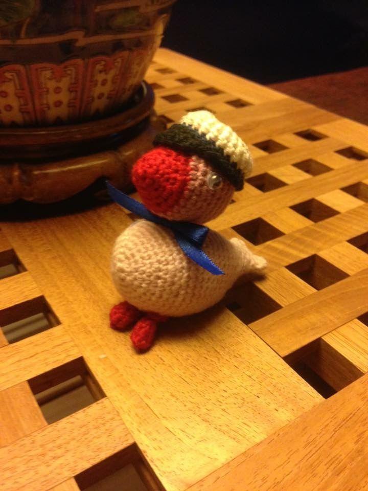 #mitkaybojesen #gaveidé Lille studenter-fugl