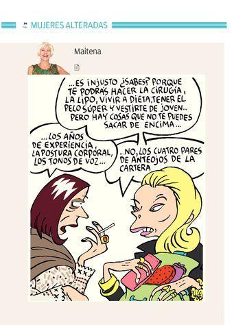 Maitena. En Todo en Domingo 15/07/2012