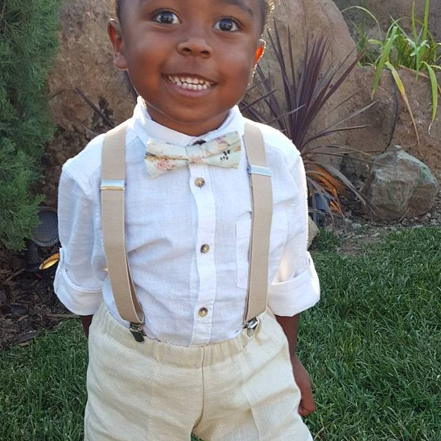 722c7a6324b1 Ring bearer outfit, boho wedding, boys bow tie, little boy fashion, cute kids  clothes, baby bow tie, toddler bow tie,