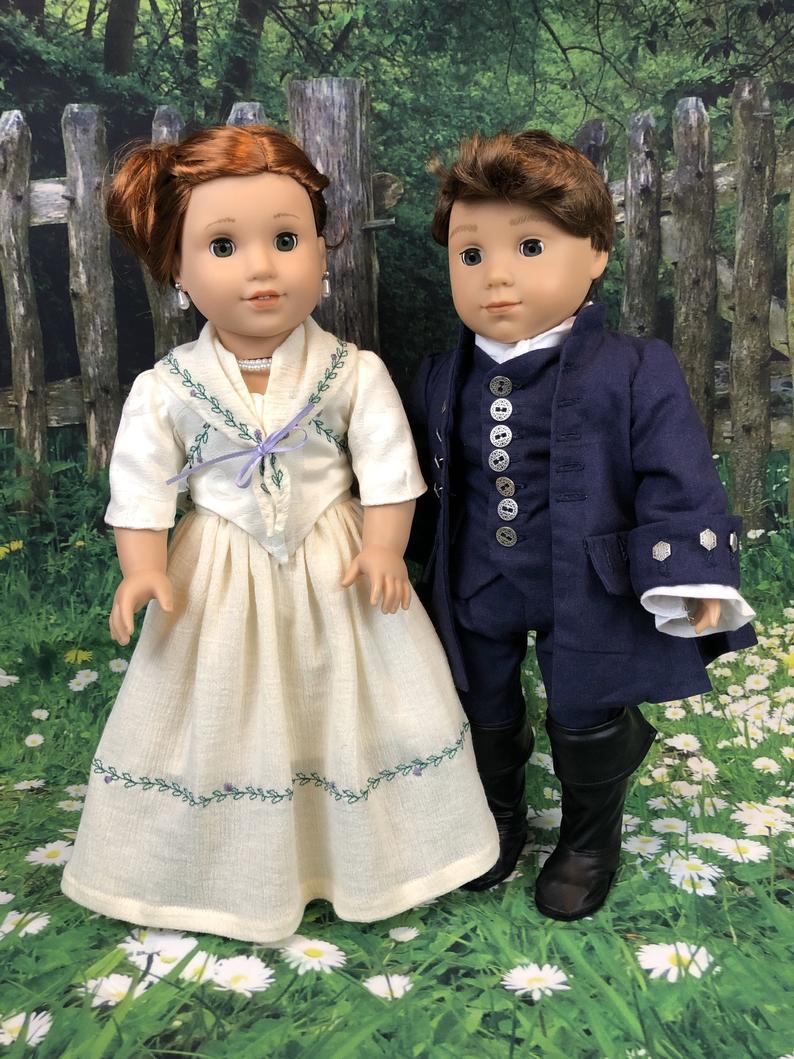 Custom Outlander Roger MacKenzie Colonial Wedding