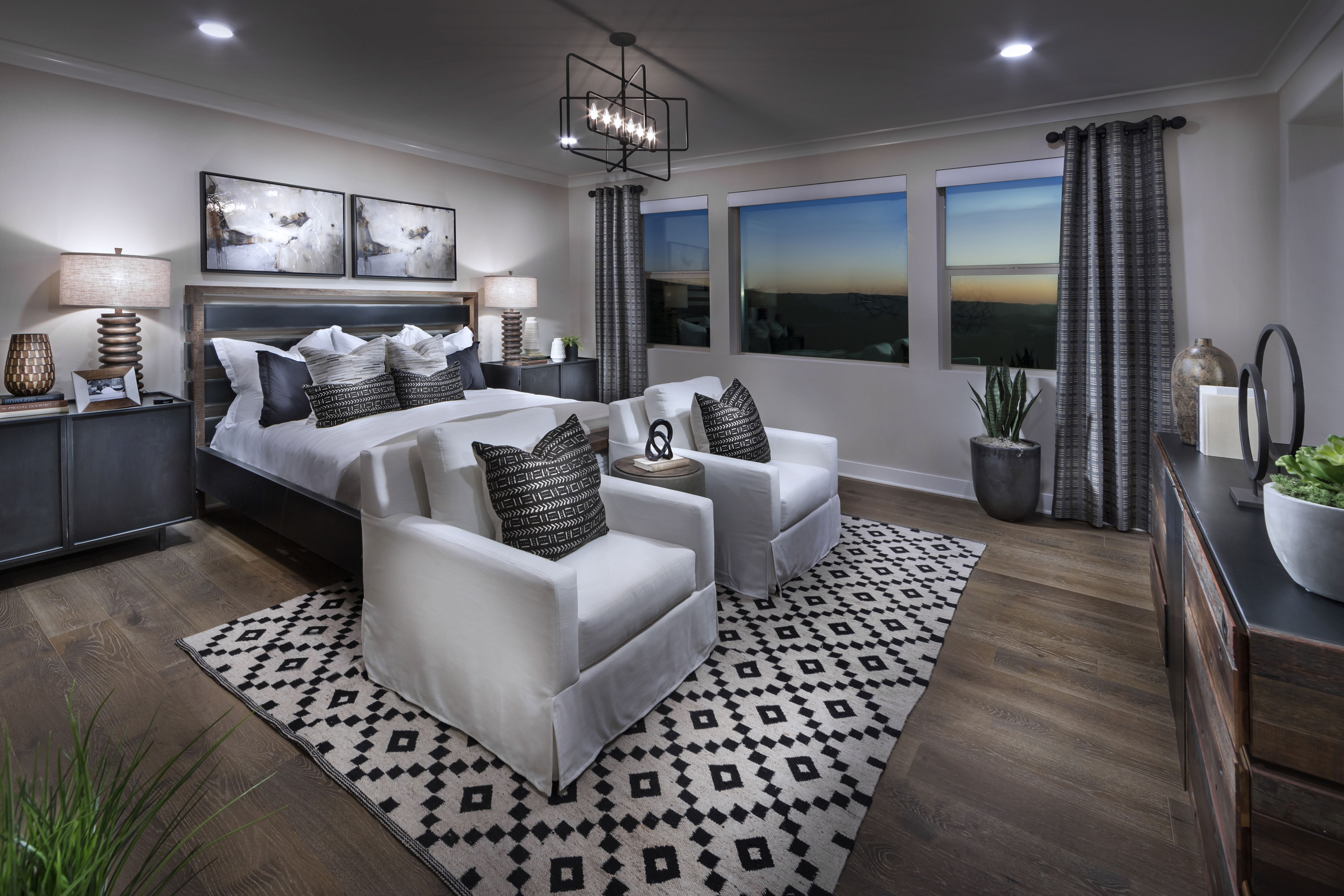 Homes with 2 master bedrooms  Residence  master bedroom  Eclipse at Altair Irvine  Pinterest