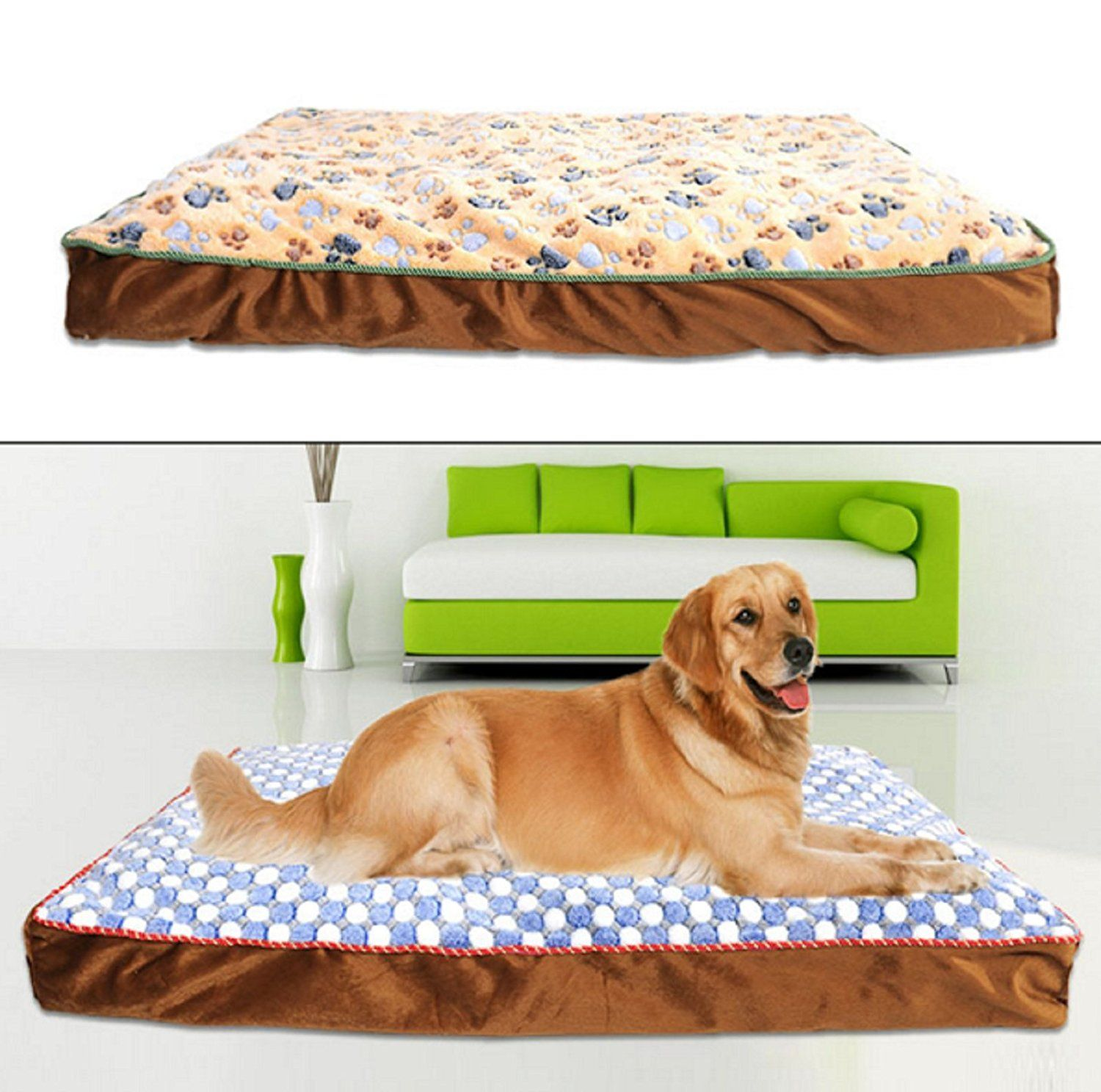 Big extra large dog mat pet luxury bed House sofa Kennel