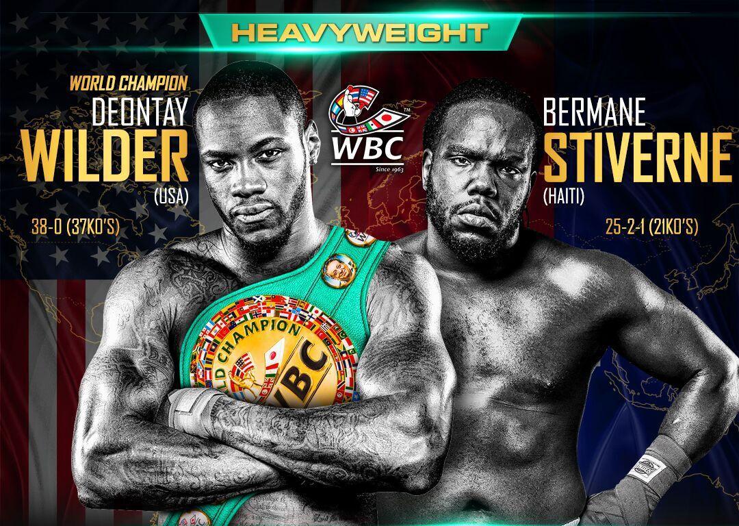 Deontay Wilder vs. Bermane Stiverne Boxing live stream
