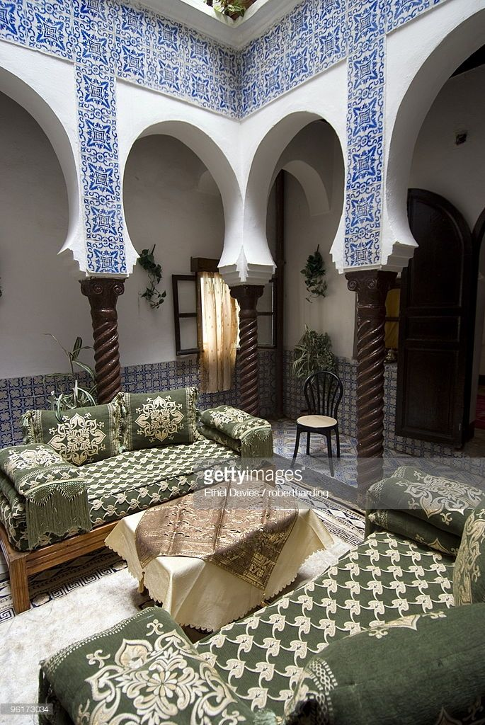 Renovated Typical Dwelling Also Housed Guerillas In The War Of Islamic Architecture Kasbah Architecture