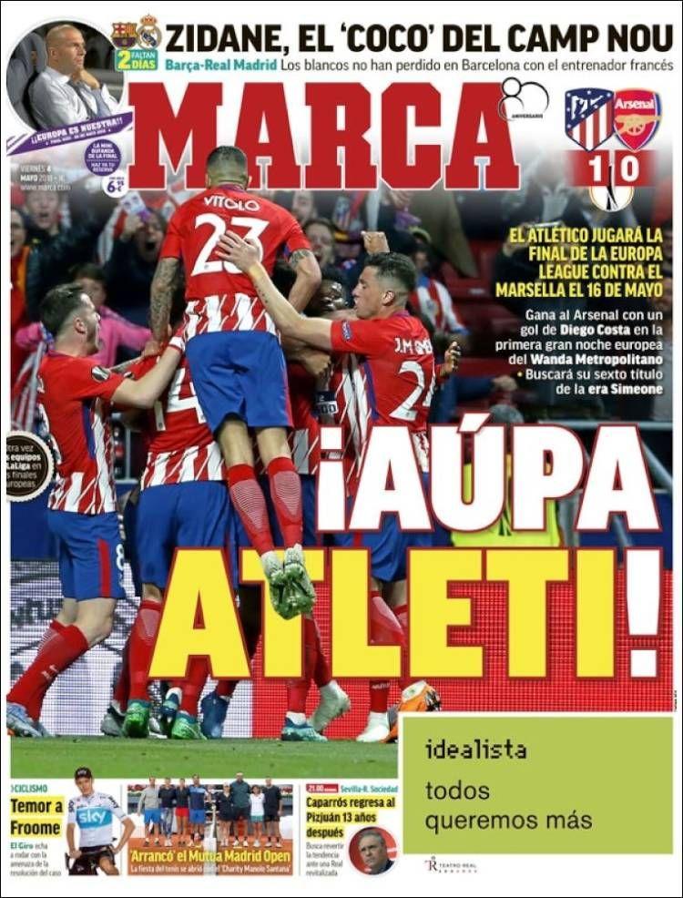 20180504 Portada de Marca (España) Club atlético de