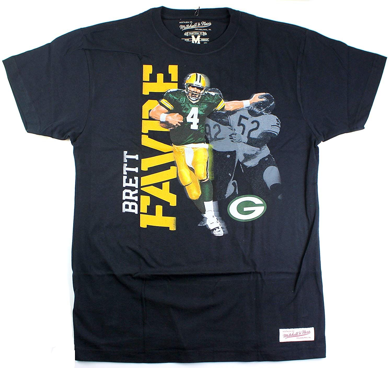 Brett Favre Green Bay Packers 4 Men S Photo Real Traditional T Shirt Tshirts20200220 In 2020 Green Bay Packers Green Bay Green Bay Football