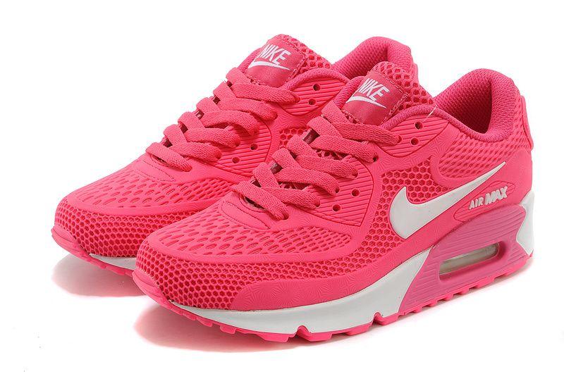 Nike Air Max 2014 womens Shoes shocking pink
