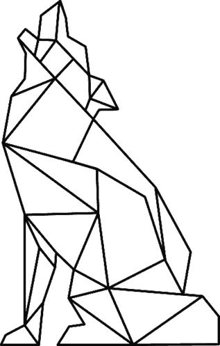 Znalezione Obrazy Dla Zapytania Geometryczne Zwierzęta Szablony