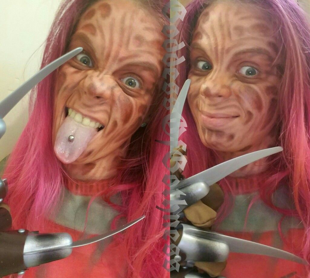 #nightmareonelmstreet #freddy #freddykrueger #horror #horrormovies #makeup #makeupart #cosplay