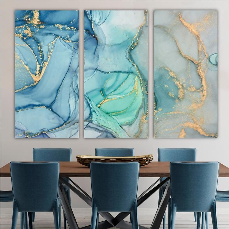 Large Three Panel Wall Art Vertical Set Of 3 Triptych Canvas Etsy In 2021 Triptych Wall Art Panel Wall Art Abstract Triptych