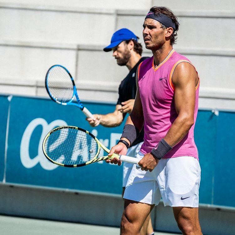 Rafa Nadal Academy By Movistar On Instagram I Think This Year I M Going With Good Fitness Preparation And I Feel Stron Rafa Nadal Fun Workouts Rafael Nadal