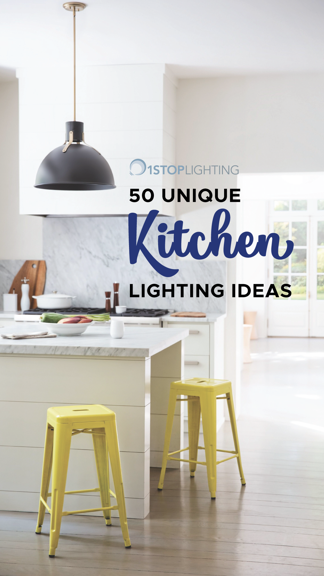 50 Unique Kitchen Lighting Ideas That Include Chandeliers Pendant Lights Island Lights And Flush Unique Kitchen Kitchen Lighting How To Install Countertops