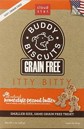Cloud Star Grain Free Itty Bitty Buddy Biscuits In A Bag 7ounce