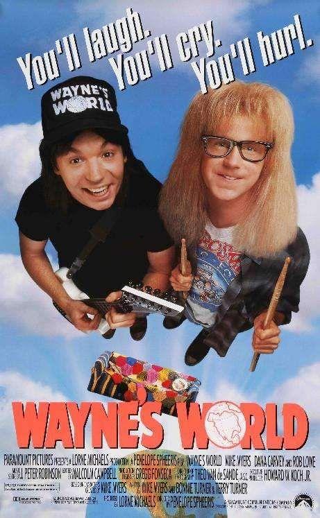 Wayne's World, Funny Movies, World