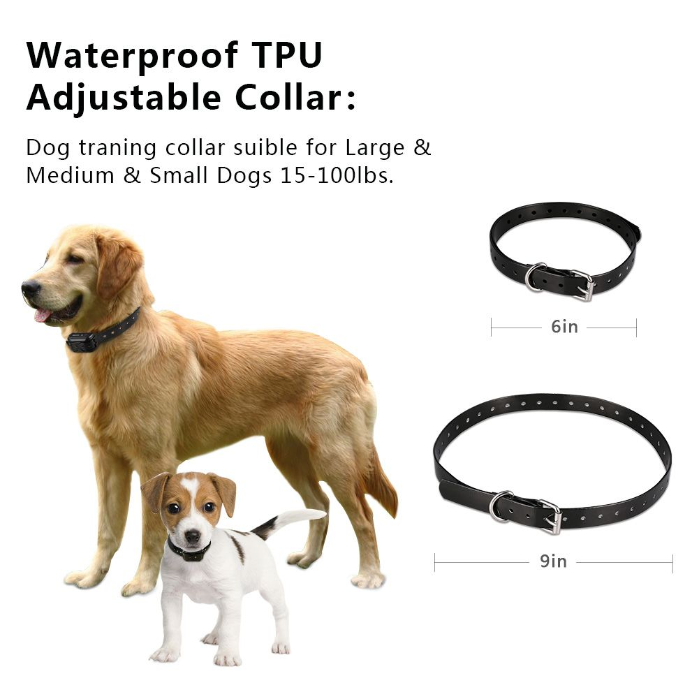 Dog Training Collar 900ft 100 Waterproof Rechargeable Dog Shock