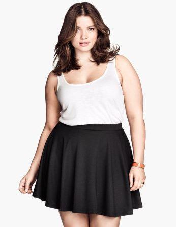 Tipos de faldas para chicas de tallas extra  ff054da7da18