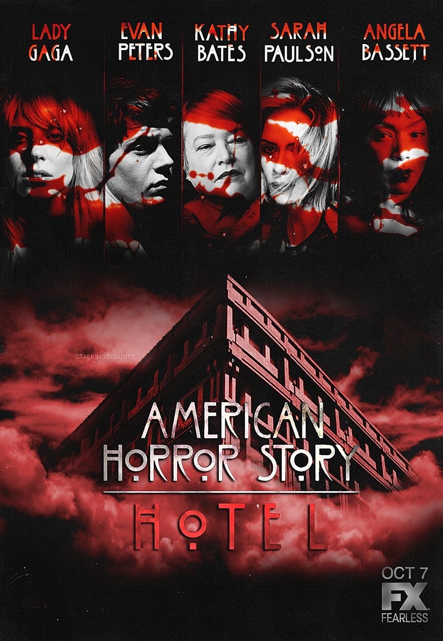 American Horror Story 2011 Fx Wednesday Oct 7 2015 At 10 P M An Anthology Seri American Horror Story Hotel American Horror American Horror Story