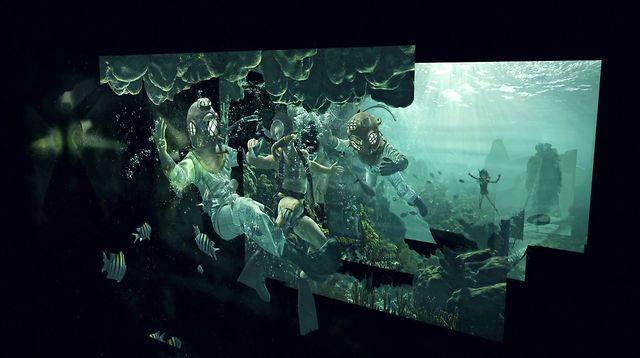 Interesante deconstruccion por capas de la imágenes de Adventure Series