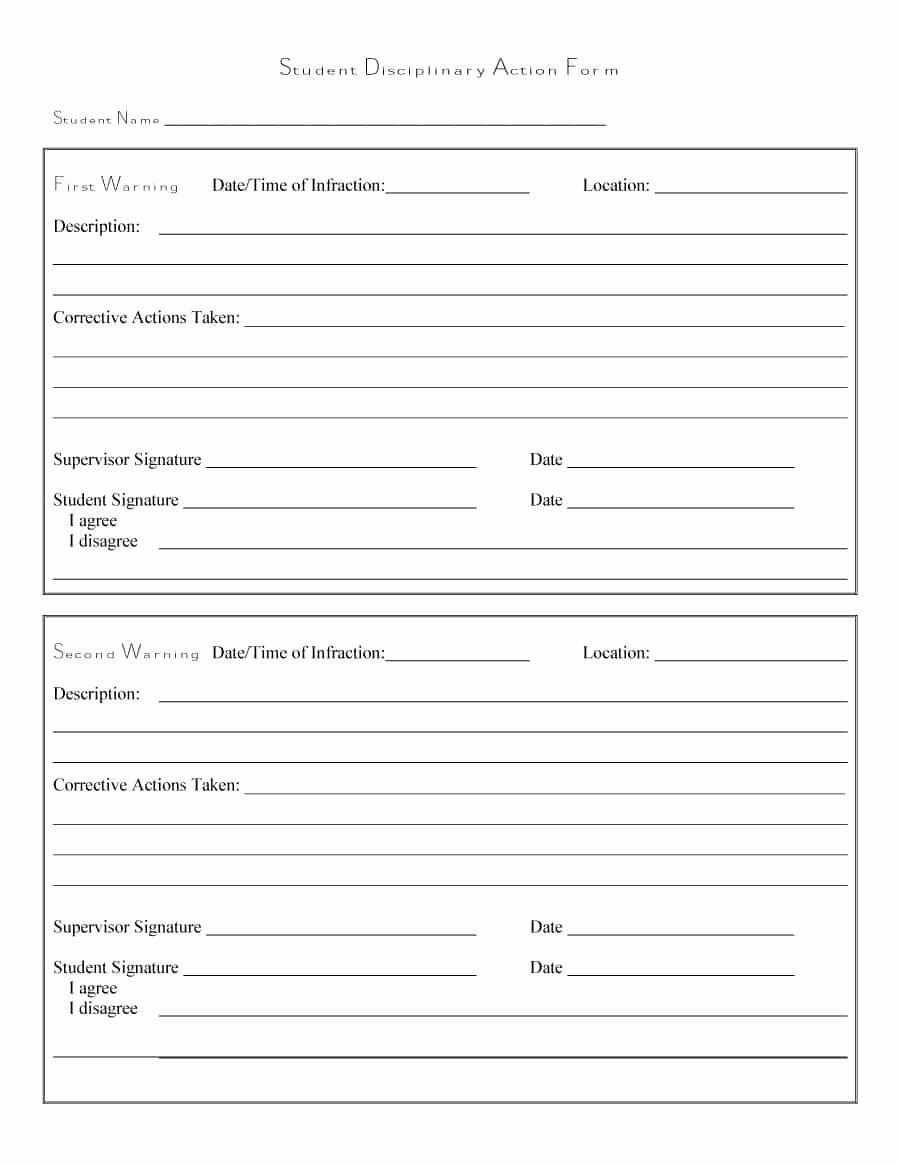 Free Printable Employee Write Up Form Unique 46 Effective Employee Write Up Forms Disciplinary Form Templates Discipline