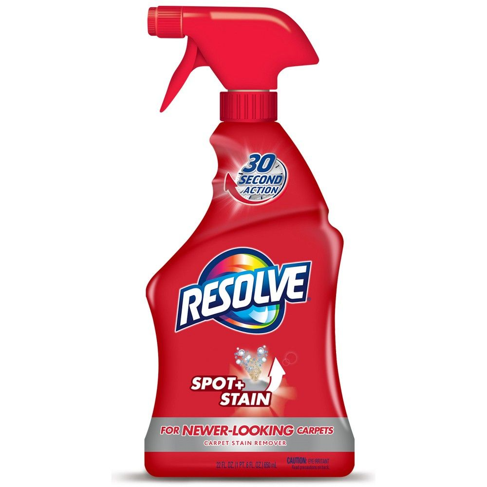Resolve Stain Remover Carpet Cleaner 22oz In 2020 Stain Remover Carpet Carpet Cleaners Upholstery Cleaner