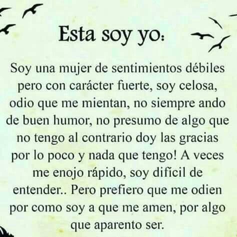 Esta soy Yo!😊