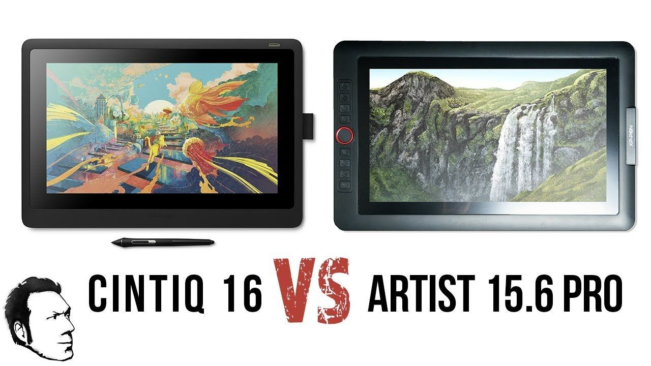 Ill be comparing the cintiq 16 to the xppen artist