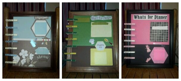 My first 3 Menu Boards!