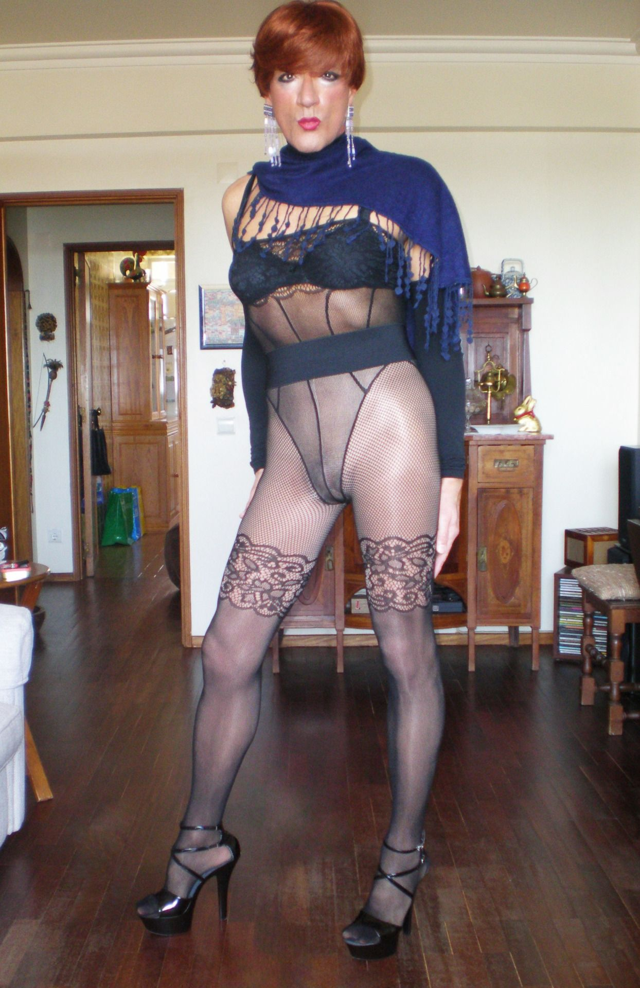 Crossdressing pantyhose wife free sex pics