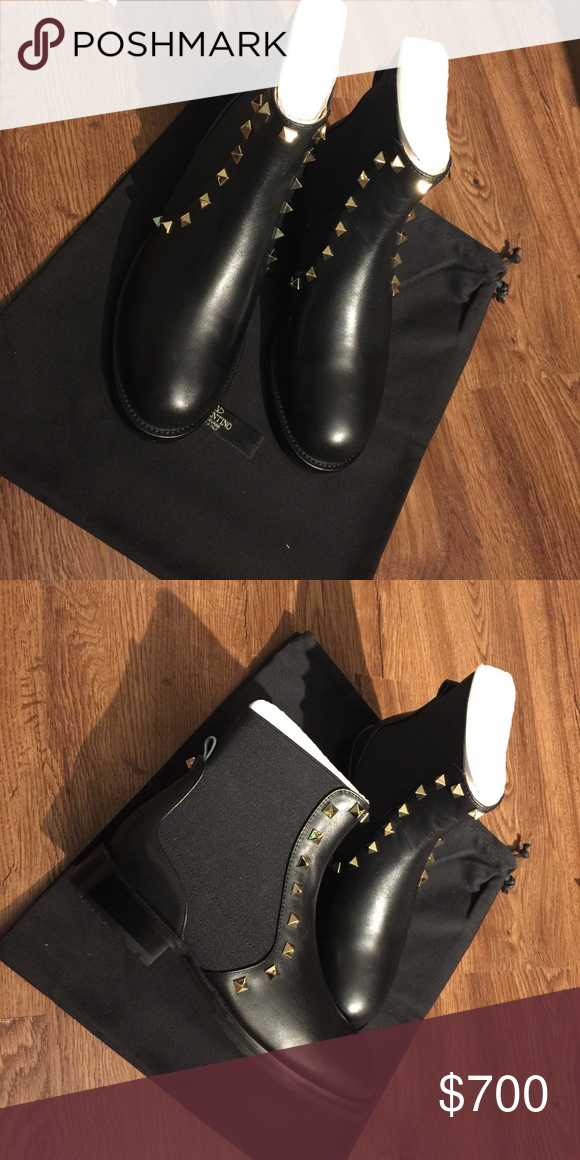 2b6ffab48d6f Ankle Boots · Valentino Rockstud beatle boot Brand new Size 6 (36) Without  shoe box