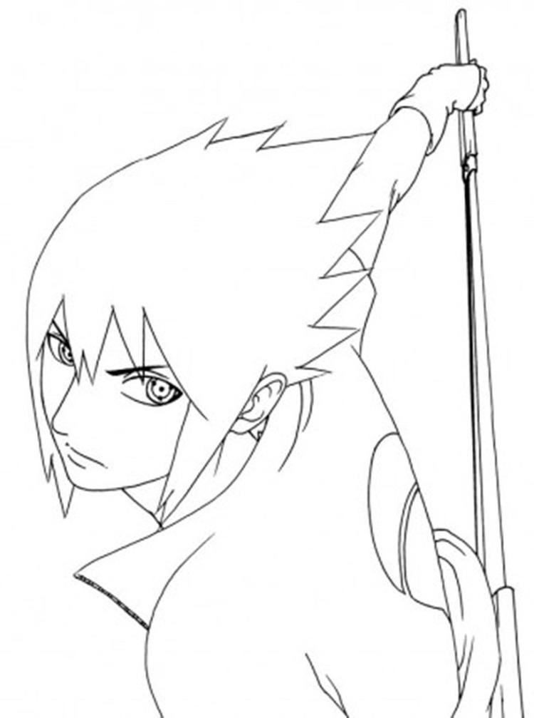 Naruto Coloring Pages Sasuke Chibi Coloring Pages Chibi Naruto Characters Naruto Sketch